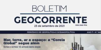 Capa do Boletim Geocorrente - 24-09-21